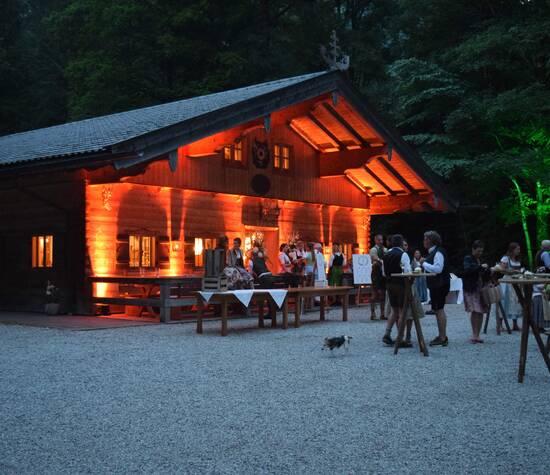 Die Gebirgsschützenhütte Rottach-Egern