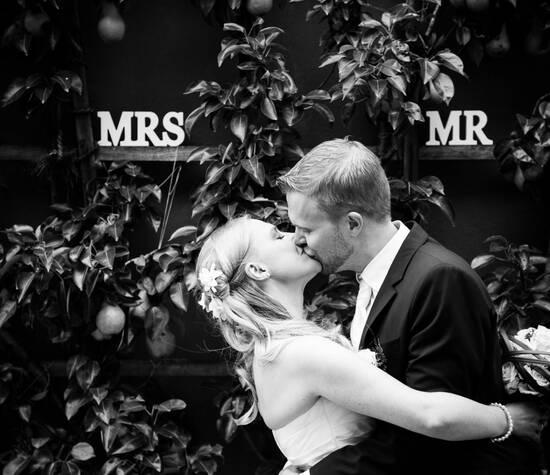 Beispiel: Professionelle Hochzeitsfotografie, Foto: Day of your life.