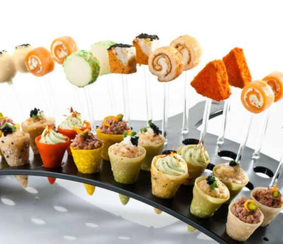 Beispiel: Fingerfood, Foto: Unikorn Catering & Events.
