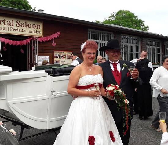Hochzeit mit Kutsche