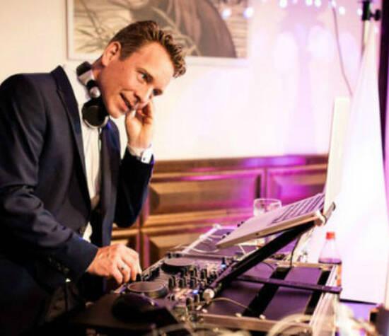 Beispiel: DJ Chris Hamburg, Foto: DJ Chris Hamburg.