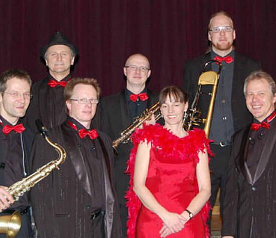 Beispiel: Full-Tanzband, Foto: Klaus Hörmann-Band.