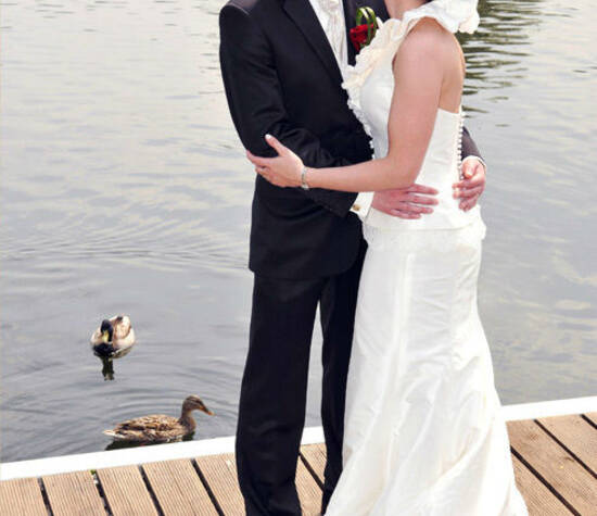 Brautpaarshooting maritim