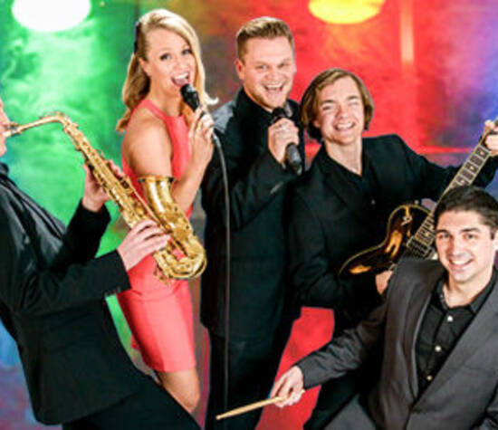 Beispiel: Bandkonstellationt Quintett, Foto: Voyage Entertainment.