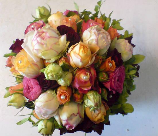 Beispiel: Brautstrauß, Foto: Love & Flowers.