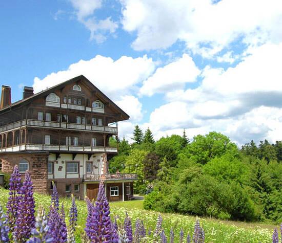 Beispiel: Außenansicht, Foto: Waldhotel Zollernblick.