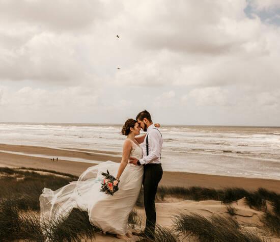Hochzeitsshooting an der Nordsee