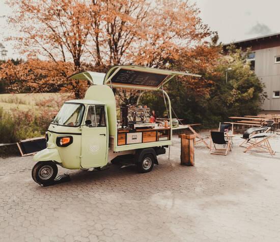 Wildkaffeemobil on tour