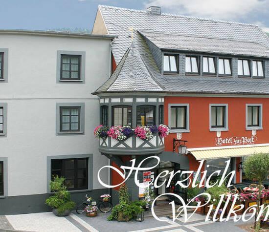Beispiel: Vorderseite, Foto: Hotel zur Post.