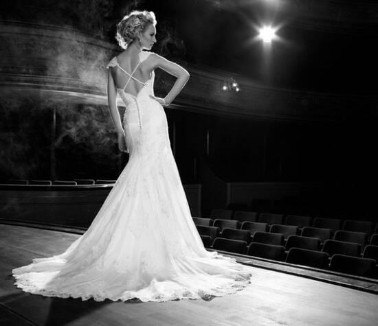 Beispiel: Kleider für den schönsten Tag in Ihrem Leben, Foto: La Diva Brautmoden.