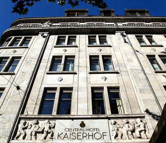 Beispiel: Außenansicht, Foto: Central-Hotel Kaiserhof.