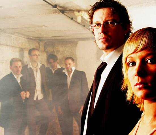 Beispiel: Bandmitglieder, Foto: Schall & Rauch.
