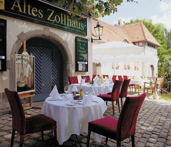 Beispiel: Terrasse, Foto: Altes Zollhaus.
