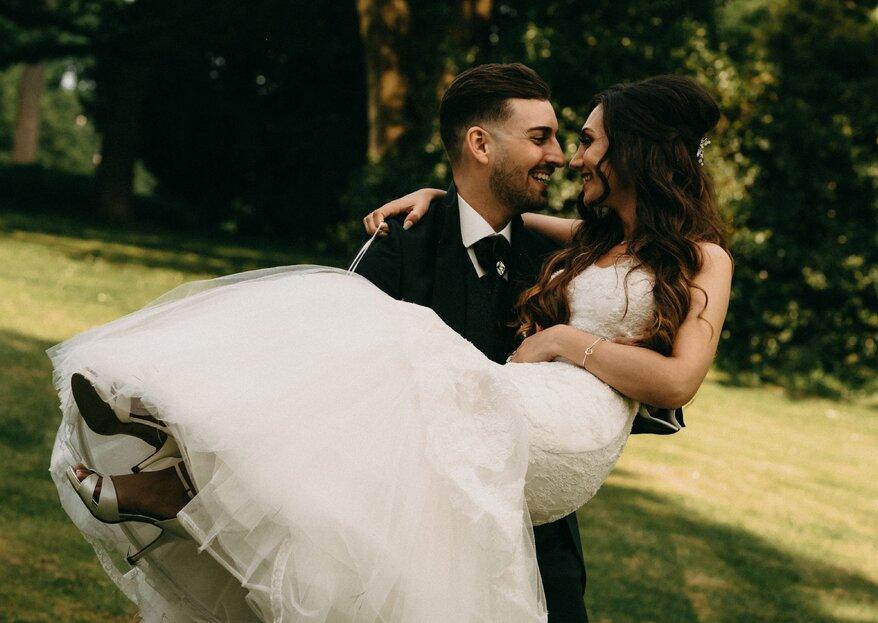 Hochzeit von Filomena und Daniel: Harmonie pur vom Getting Ready bis zu Party!
