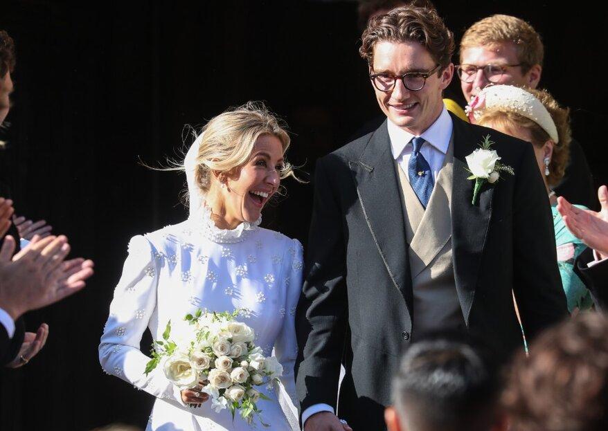Alles über die Hochzeit der Sängerin Ellie Goulding und das Brautkleid, das niemand erwartet hat