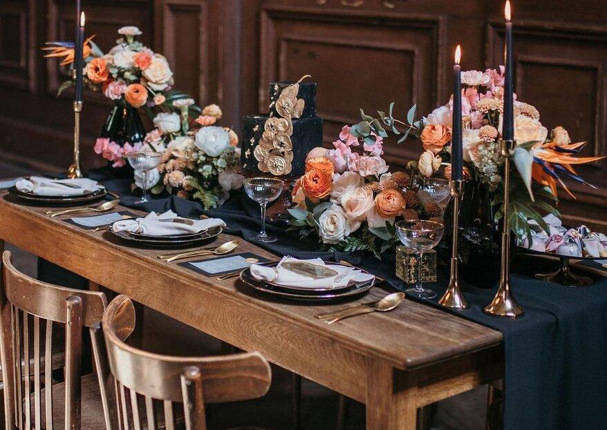 Dark Vintage Wedding –Inspirationen von erfahrenen Dienstleister für euer Fest