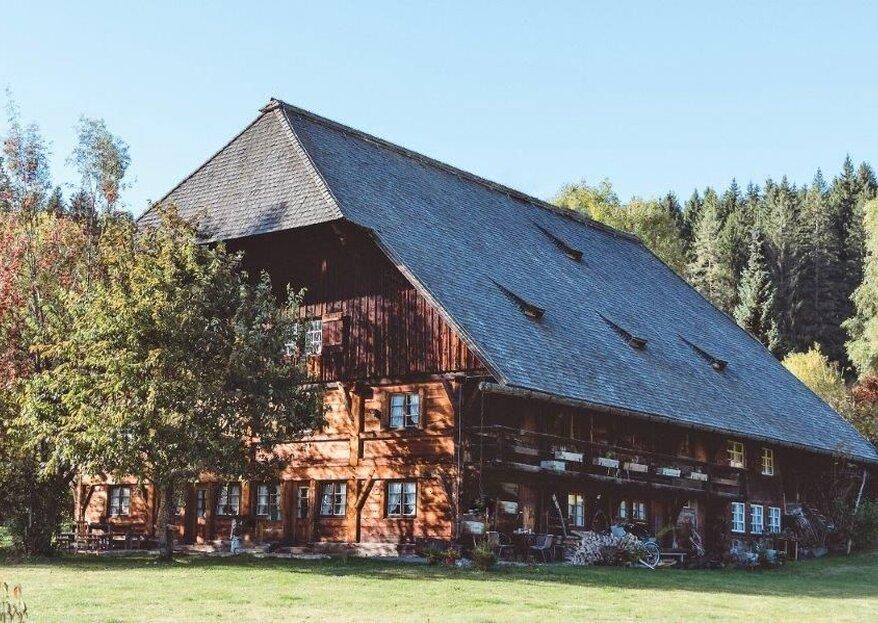 Heiraten im Südschwarzwald – auf dem Henslerhof erleben Sie Historie, Romantik & Naturverliebtheit