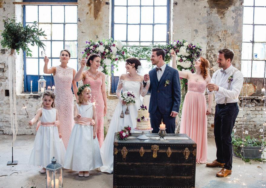 Marie Amour begeistert mit hinreißender Brautmode in Wuppertal!
