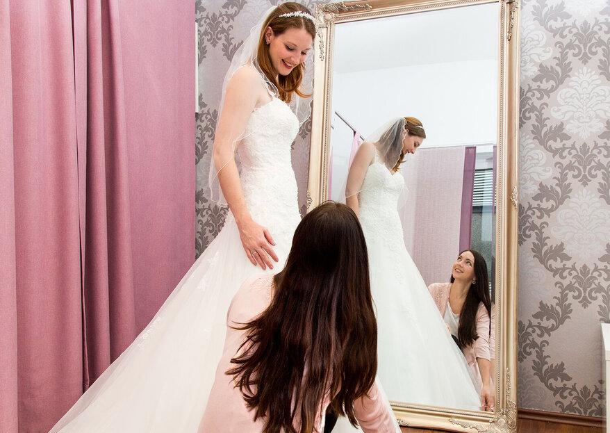 Hochzeitshaus Struck: Lassen Sie sich von Kopf bis Fuß für die Hochzeit ausstatten, egal ob Braut, Bräutigam oder Gast!