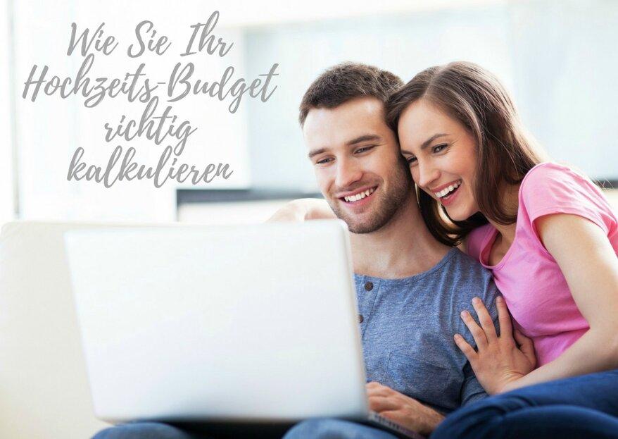 Wie Sie Ihr Hochzeitsbudget richtig kalkulieren – 5 Dinge, die Sie bei der Budgetplanung bedenken sollten