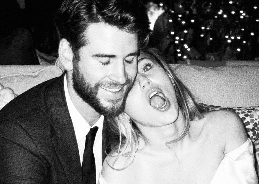 Miley Cyrus teilt neue, unveröffentlichte Hochzeitsbilder mit Liam Hemsworth