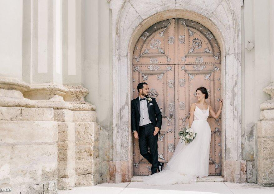 Die deutsch-mexikanische Hochzeit von Christina und Fernando mit Vintage Touch