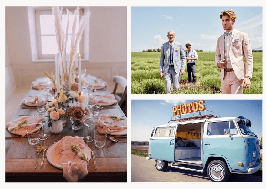 Hochzeit in Pastellfarben: Inspirationen von Hochzeitsexperten