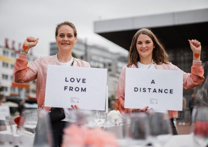 Stand up for Love: Eine Aktion zur Rettung der Hochzeitsbranche