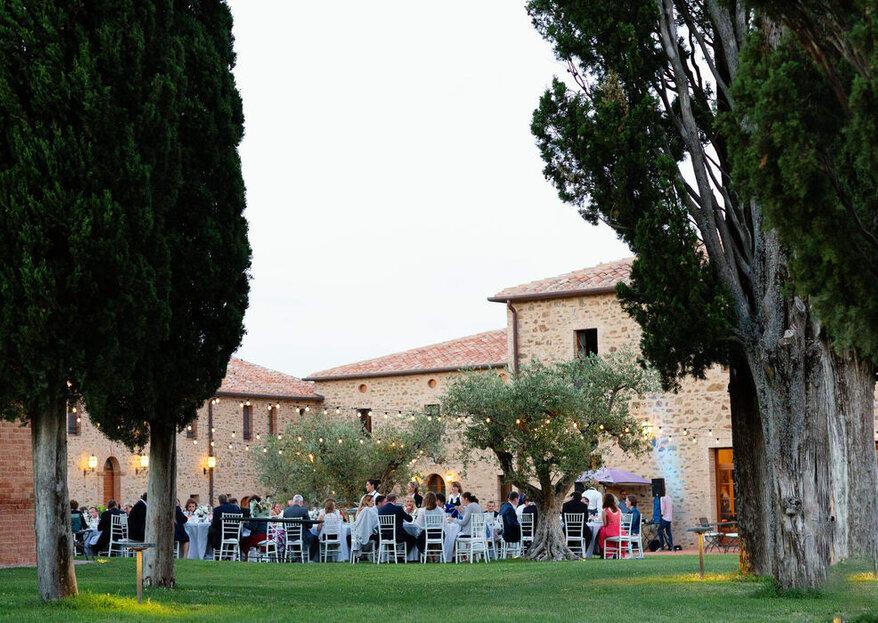Heiraten in ColleMassari: Feiern Sie Ihre Hochzeit im Herzen der Toskana