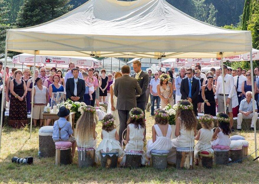 """Ein Moment für die Ewigkeit - Die Trauredner von """"Heiraten ist mehr"""" gestalten eine unvergessliche freie Trauung"""