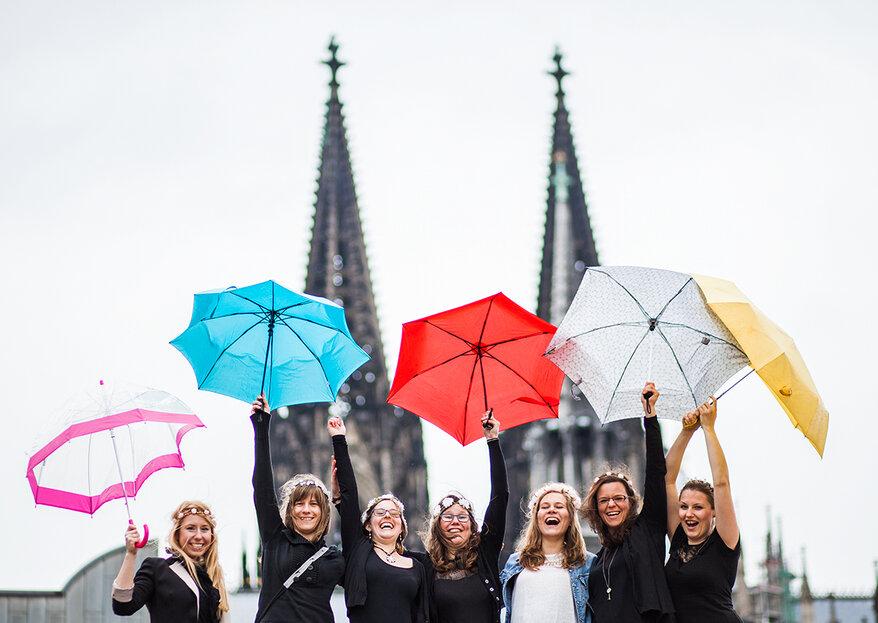 Heiraten in Köln – Unsere Tipps für Hochzeitsdienstleister in der Domstadt