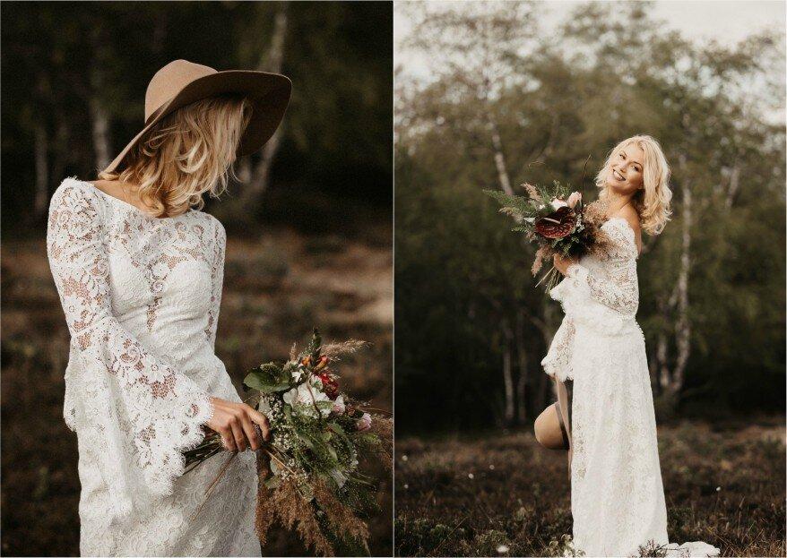 Hochwertiges Afterweddingshooting im Bohostil - auf der Jagd nach dem Nerv der Zeit