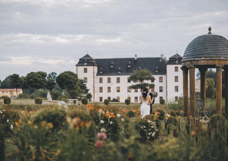 Schloss Walkershofen: Heiraten wie im Dornröschenschloss