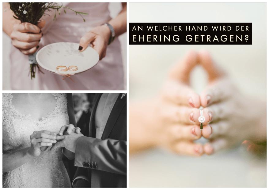 An welcher Hand trägt man den Ehering?