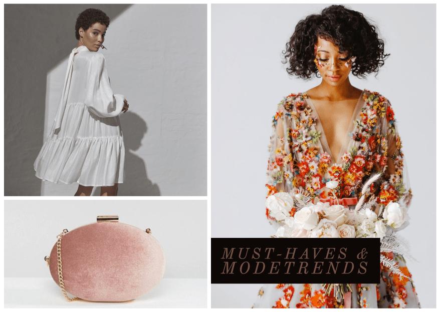 6 Must-Haves & Modetrends für die aktuelle Hochzeitssaison!