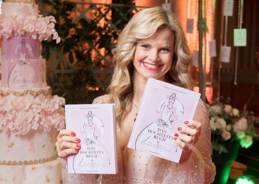 Das Hochzeitsbuch: Nadine Metgenberg feiert eine atemberaubende Launch-Party!