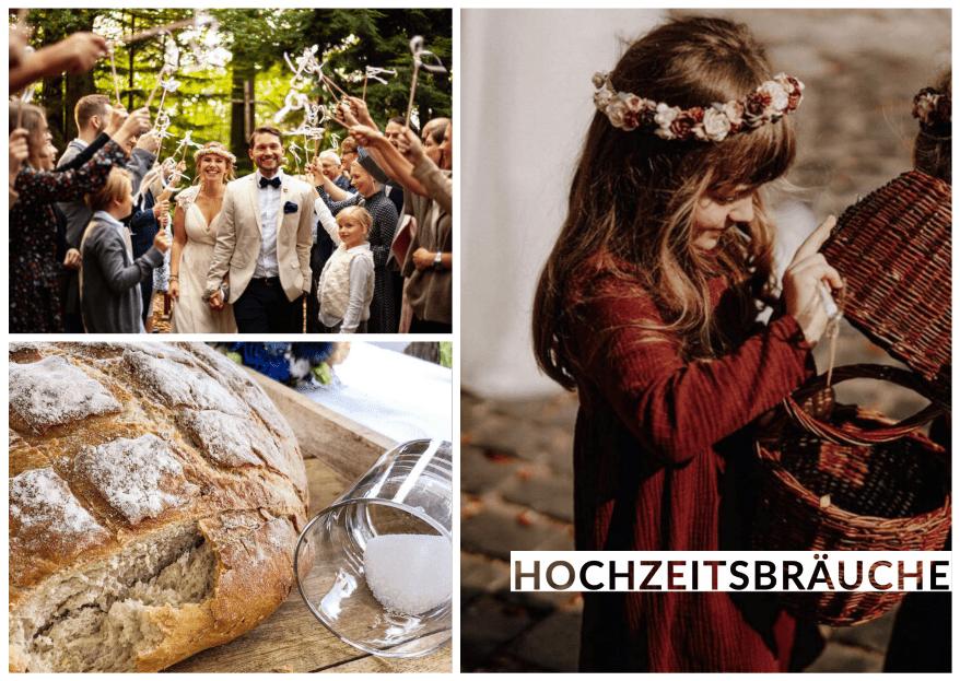Was sind die beliebtesten Hochzeitsbräuche in Deutschland?
