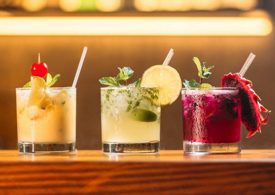 Cocktailtrends für Ihre Hochzeit – Echte Profis verraten Ihnen die beliebtesten Drinks!
