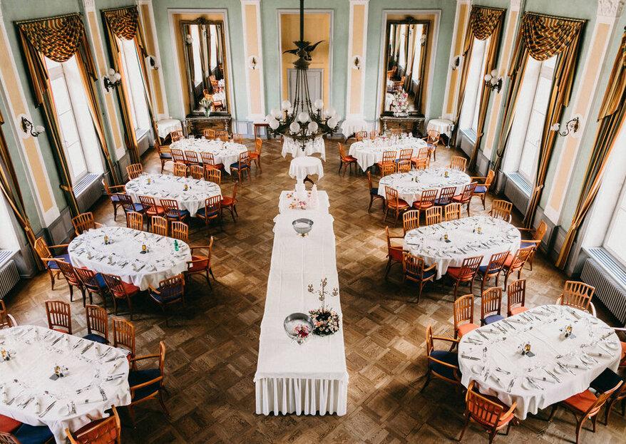 Hochzeitslocations in Deutschland und Europa, die einen stilvollen Rahmen für euer Fest bieten
