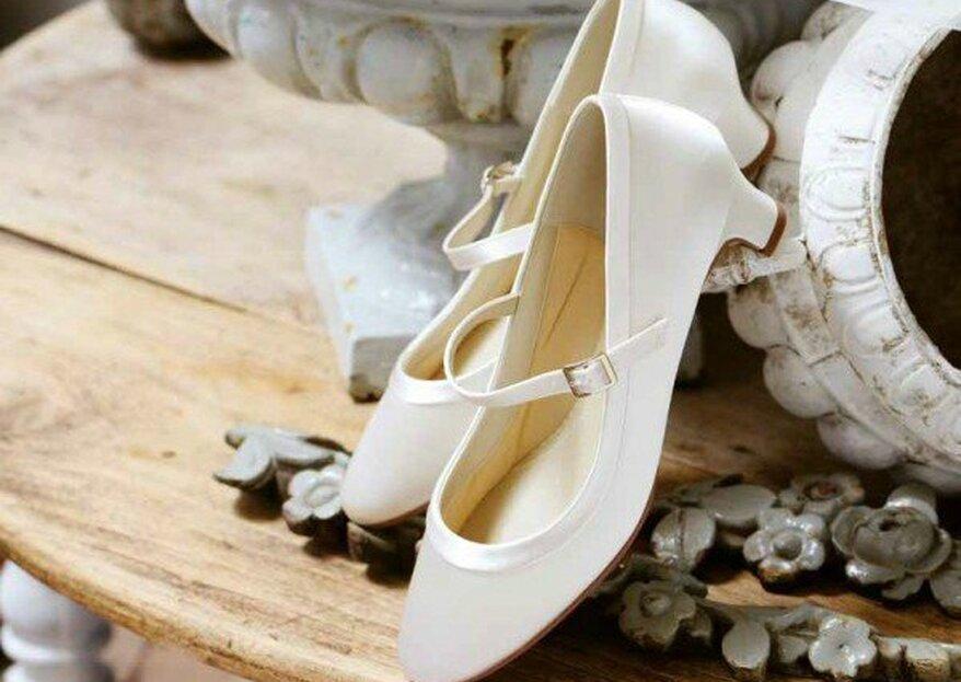 Der perfekte Auftritt auf Ihrer Hochzeit – mit den richtigen Brautschuhen von Braut Boutique