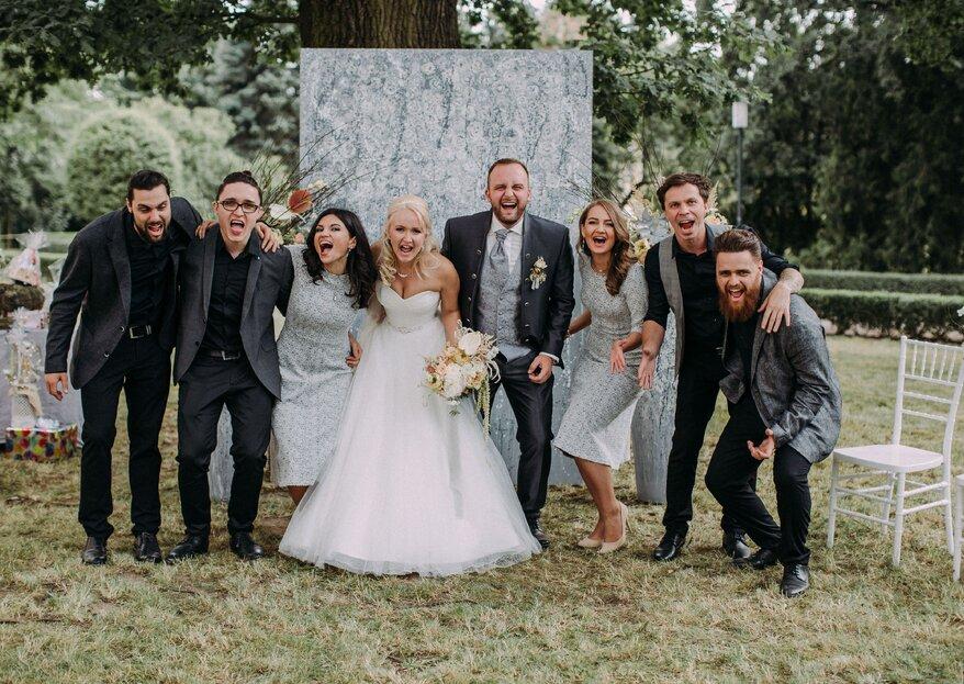 So erreicht die Stimmung auf Ihrer Hochzeit den Höhepunkt: Zwei Entertainment-Profis verraten ihr Erfolgsrezept