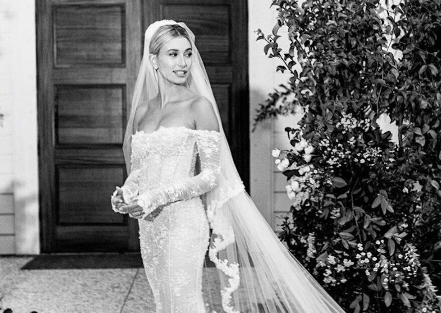 Hailey Bieber zeigt endlich ihr Brautkleid
