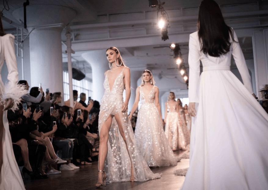 New York Bridal Fashion Week 2019: 5 Hochzeitstrends, die jetzt angesagt sind