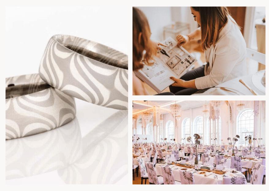Dienstleister-Inspirationen für eine White Party Wedding