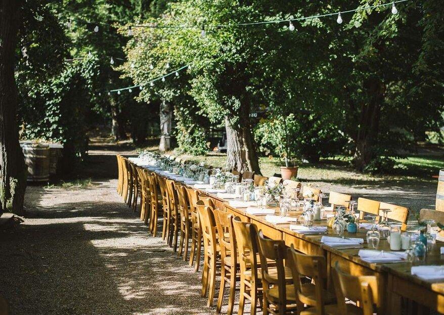 Heiraten im Grünen: Hochzeitslocations umgeben von herrlicher Natur