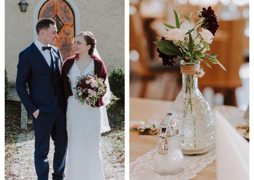Real Wedding: Eine Hochzeit im Zeichen Gottes