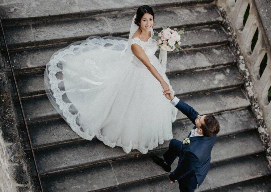 Das perfekte Team für authentische Hochzeitsreportagen: Fotograf René & seine Frau Marina!