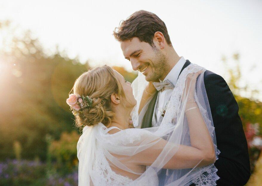 Die elegante & rustikale Scheunenhochzeit von Nathalie und Michael