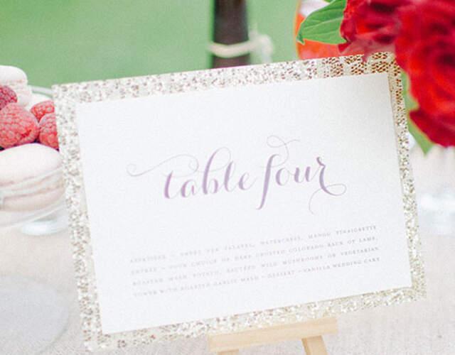 Hochzeitsdekoration in Bayern