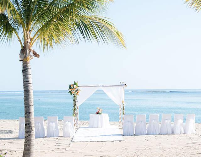Das Beste für Ihre Hochzeit in Port Louis